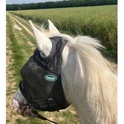 Masque anti-mouche anti-uv cheval sans oreilles Emouchine -  Ravene