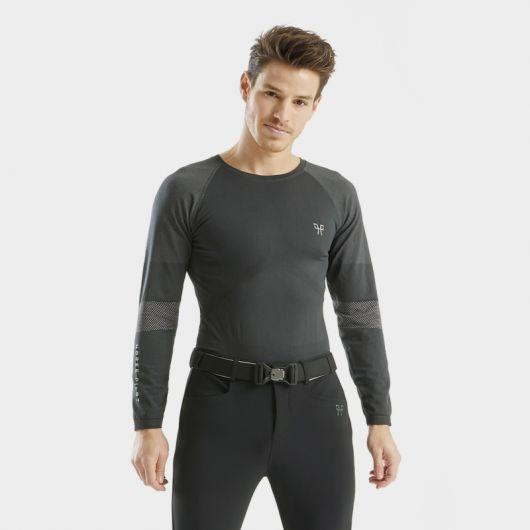 Tee-shirt manches longues Homme Optimax correction posturale - Horse Pilot