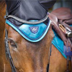 Bonnet anti-mouche cheval satin Vision - Woof Wear