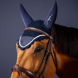 Bonnet anti-mouche anti-bruit cheval Concours - Dyon