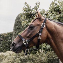 Licol cheval simili-cuir nylon tressé - Kentucky Horsewear