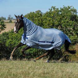 Chemise anti-mouche cheval avec couvre-cou Buzz-off Full neck  - Bucas