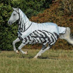 Chemise anti-mouche cheval imperméable Buzz-off Zebra Rain - Bucas