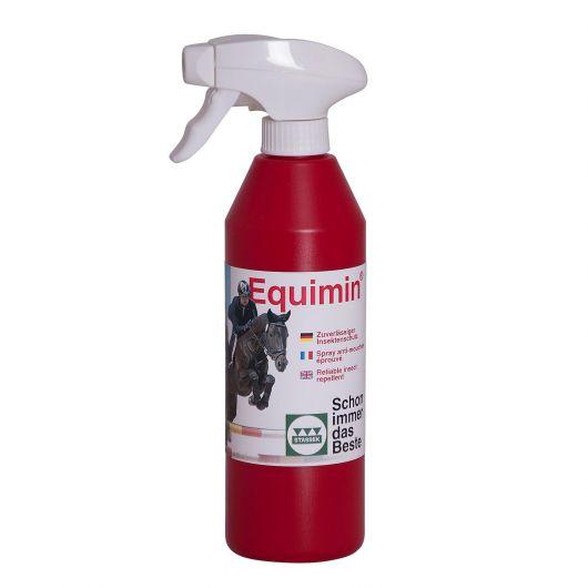 Spray naturel anti-mouches cheval Equimin - Stassek