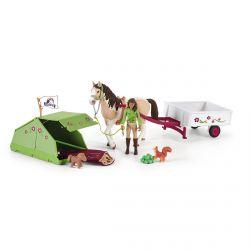 Figurine Aventure au camping de Sarah - Horse Club - Schleich