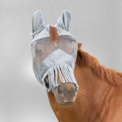 Masque anti-mouche anti-UV cheval à franges Premium - Waldhausen