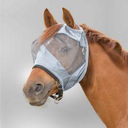 Masque anti-mouche cheval anti-UV sans oreilles Premium - Waldhausen