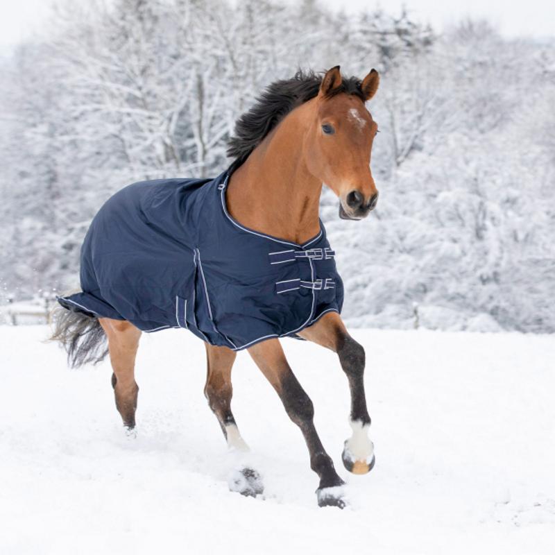 Couvrture impeméable cheval doublée polaire Economic - Waldhausen