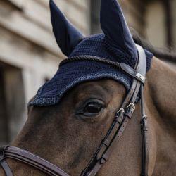 Bonnet anti-mouche cheval Glitter Stone Soundless - Kentucky