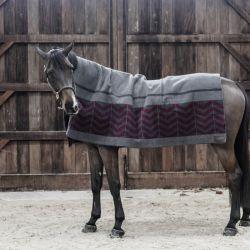 Chemise séchante cheval carré Heavy Fishbone - Kentucky Horsewear