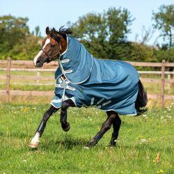 Couverture imperméable cheval Amigo Am Eco 12 plus turnout 100 g - Horseware
