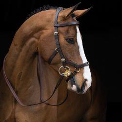 Bridon cuir cheval Rambo Micklem Multi - Horseware