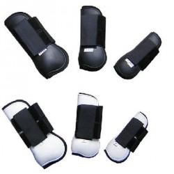 Protège-Tendons coques rigides velcro