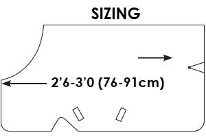 Guide des tailles Amigo Foal Horseware