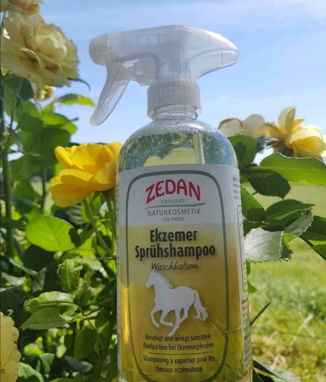 shampoing spray anti dermite Zedan - Equestra