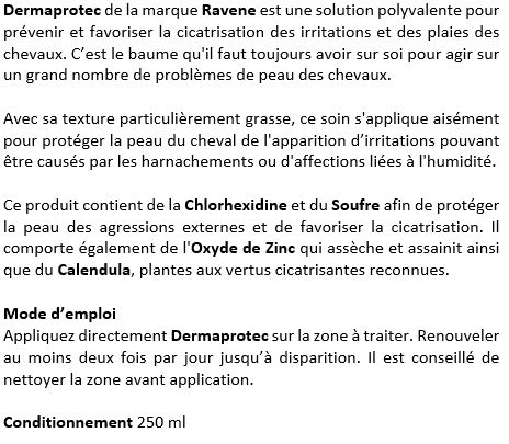 Soin cutané polyvalent 250 ml Dermaprotec Ravene