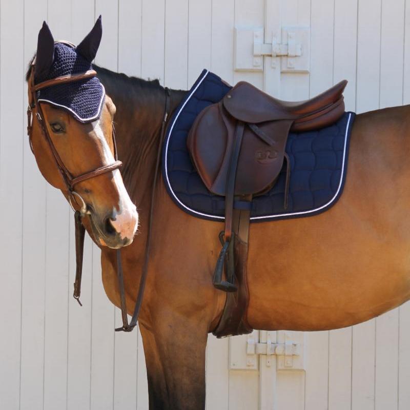 Pack tapis de selle et bonnet Harcour - Equestra