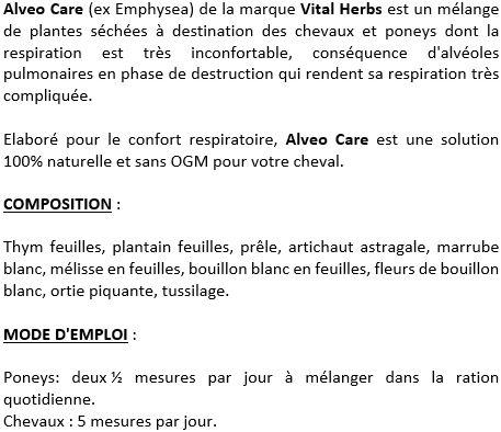 Alveo Care plantes 1 kg Vital Herbs