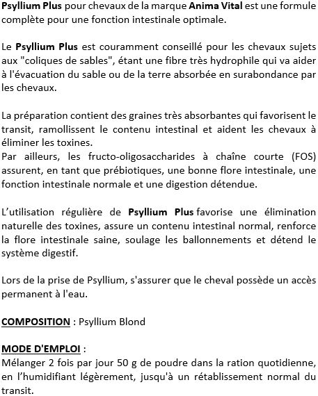 Psyllium Plus AnimaVital