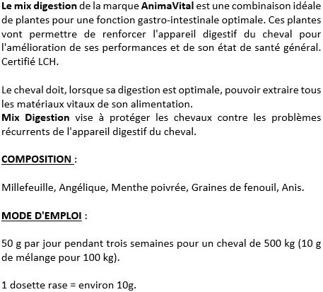 Mix digestion cheval AnimaVital
