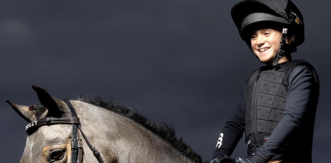 Gilet équitation enfant