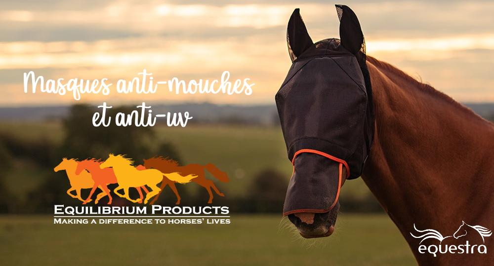 masques anti-mouches equilibrium - Equestra