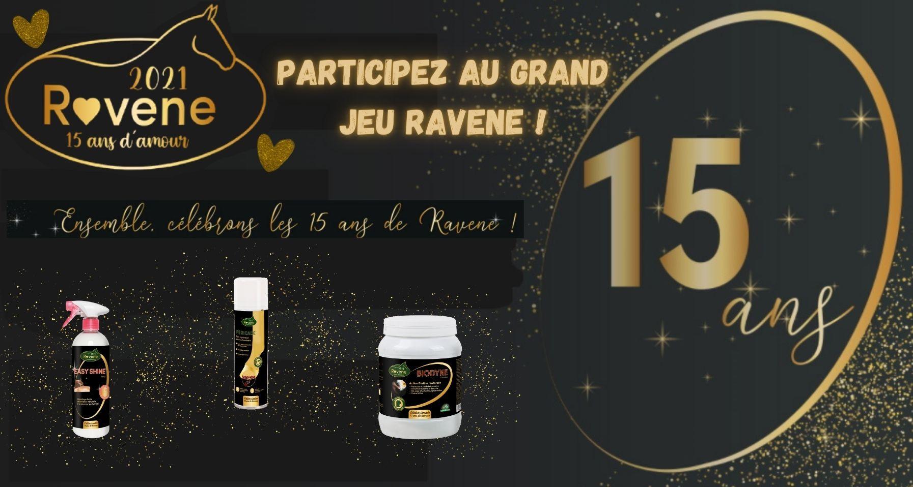 Grand jeu anniversaire 15 ans Ravene - Equestra